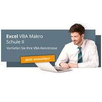 Excel Makro-Schule VBA II