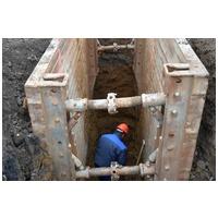 Sicheres Herstellen von Baugruben und Gräben