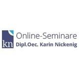 Karin Nickenig - Online-Seminare Rechnungswesen und Steuern