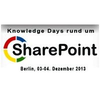 SharePoint Days 2013 - Kombiticket mit Halbtagesworkshop