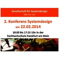 Systemdesign - 2. Konferenz der Gesellschaft für Systemdesign