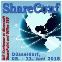 ShareConf 2015 - Konferenzticket, 09.-10. Juni 2015