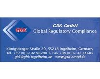 GBK GmbH Global Regulatory Compliance