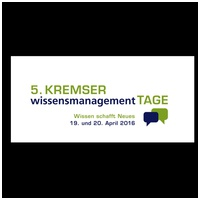 5. Wissensmanagement-Tage Krems