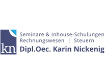 Karin Nickenig - Dozentin für Rechnungswesen und Steuern