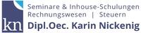 Karin Nickenig - Seminare für Rechnungswesen und Steuern